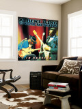 Albert King with Stevie Ray Vaughan - In Session Mural