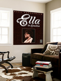 Ella Fitzgerald - Ella in London Wall Mural