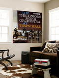 Thelonious Monk - The Thelonious Monk Orchestra in Town Hall Wall Mural