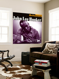 John Lee Hooker, Specialty Profiles Wall Mural