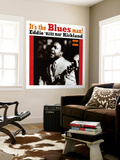 Eddie Kirkland - It's the Blues Man! Wall Mural