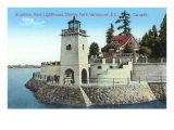 Brockton Point Lighthouse, Vancouver Print
