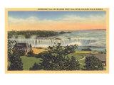 Horseshoe Falls, Niagara Print