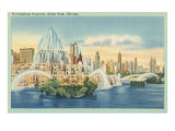 Buckingham Fountain, Grant Park, Chicago, Illinois Posters
