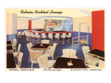 Cabana Cocktail Lounge, Kansas City, Missouri Poster