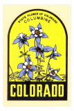 Columbine Decal Posters