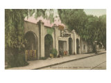Mission San Gabriel, California Posters
