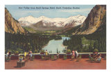 Bow Valley, Banff Springs Hotel Posters