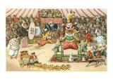Animal Circus Posters