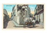 Street Vendor, Havana Print