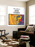 Sam Cooke - The 2 Sides of Sam Cooke Wall Mural
