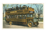 Double Deck Motor Coach, Chicago, Illinois Posters