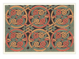 Celtic Weave Pattern Posters