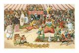Animal Circus Print