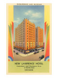 New Lawrence Hotel, Chicago, Illinois Poster