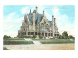 Dunsmuir Castle, Victoria, British Columbia Print
