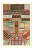Busy Geometric Patterns Decorative Arts Posters