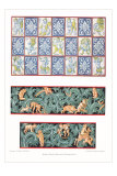 Quilt Patterns, Children in Woods Posters