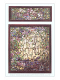 Tiffany Stained Glass Window Posters