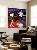 Jumpin' and Jivin' Wall Mural