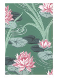 Lily Pond Wallpaper Posters