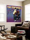 The Temprees - Love Maze Wall Mural