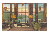 Prince of Wales Hotel, Waterton Lakes, Alberta Poster