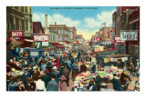 Maxwell Street Market, Chicago, Illinois Poster
