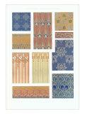 Various Art Deco Wallpaper Designs Posters