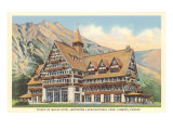 Prince of Wales Hotel, Waterton Lakes, Alberta Posters