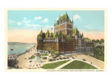Chateau Frontenac, Dufferin Terrace, Quebec Posters