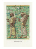 Assyrian Frieze, Archers at Susa Posters