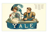 Eli and Girlfriend, Yale Cheer Posters