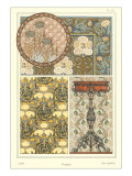 Art Nouveau Decorative Arts Giclee Print