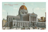 Federal Building and Post Office, Chicago, Illinois Posters