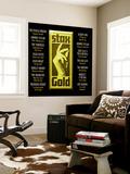 Stax Gold Vægplakat i topklasse