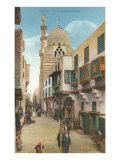 The Blue Mosque in Cairo Poster