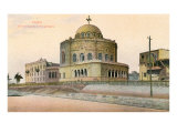 Coptic Church in Old Cairo Print