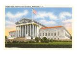 Supreme Court, Washington, D.C. Poster