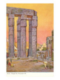 Columns of Luxor Temple, Egypt Posters