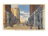 Market Street, Wilmington Posters