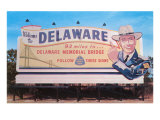 Welcome to Delaware Billboard Posters