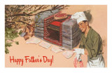 Happy Father's Day, Autumn Barbecue Posters