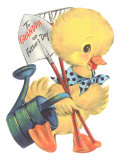 To Grandpa, Duckling Poster
