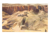 Valley of the Kings, Thebes, Egypt Print