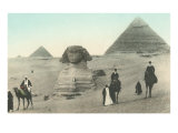 Englishmen Visiting Pyramids Posters