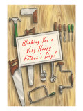 Wishing You a Happy Father's Day, Tools Poster