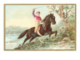 Steeplechase Jockey Boy Posters