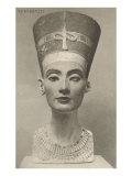 Nefertiti, Head On Posters