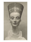Nefertiti, Head On Posters
